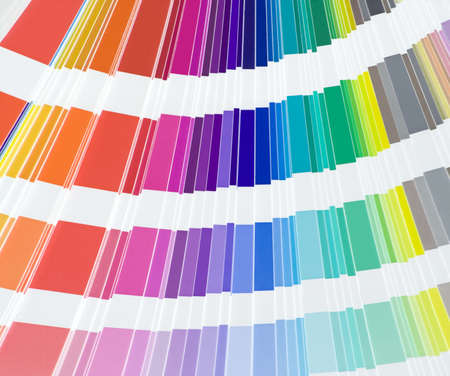 Close up of color scale Stock Photo - 3180050