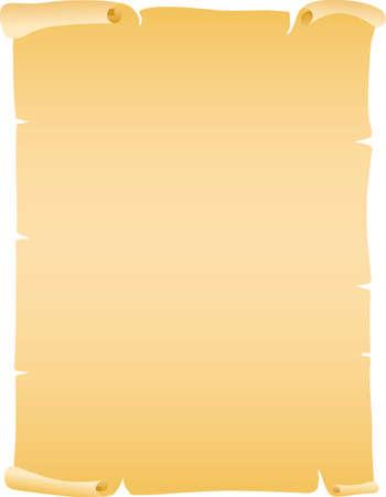Vector illustration of old paper