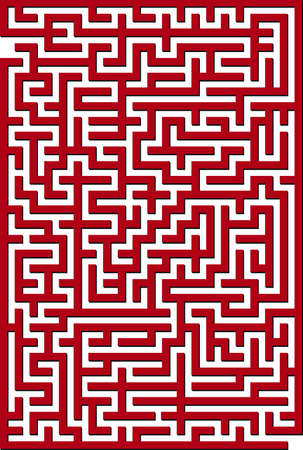 Vector illustration of maze Vector