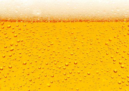 botellas de cerveza: Cierre de las burbujas de la cerveza