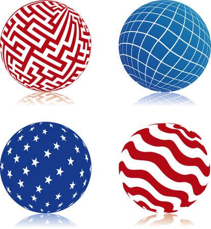 Choose you own ball Vector