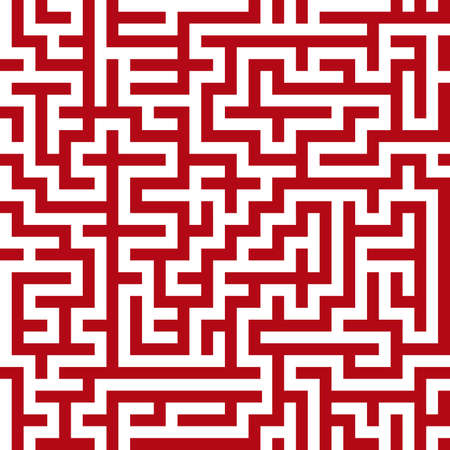 illusions: Seamless maze pattern