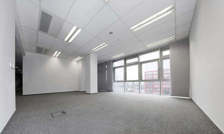 Empty office ready for rent photo
