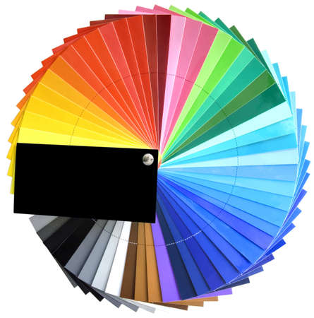 descriptive colour: Colorfull spectrum palette sample