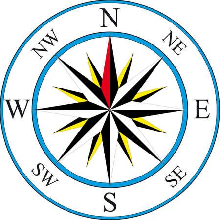 Illustration von einfachen compass Illustration
