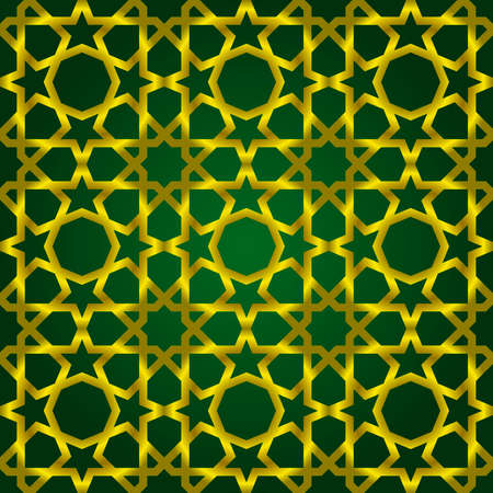 Vector illustration of complex islamic seamless pattern Vector