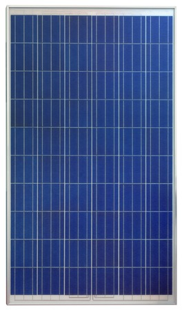 Photovoltaic Solar Panel auf weißen Hintergrund