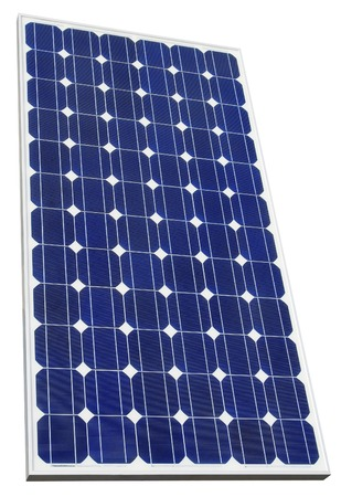 solarpanel: Solar Cell Isolated with Clipping Path