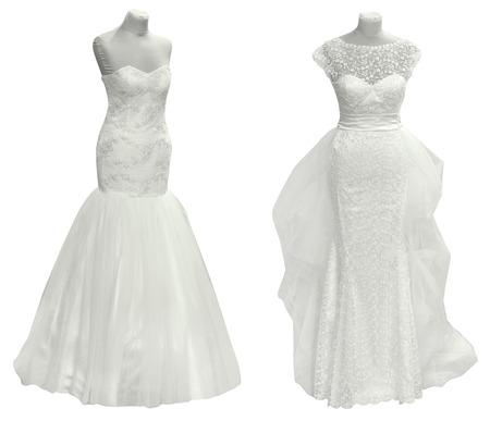traditional   dress: Two Wedding Dress