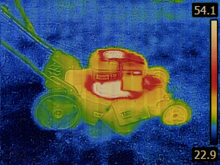 thermogram: Thermal Image Failure Detection of Lawn Mower