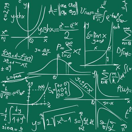 calculus: Math Seamless Background Pattern Texure