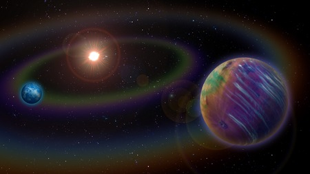hypothetical: Extraterrestrial Alien Two Planet System