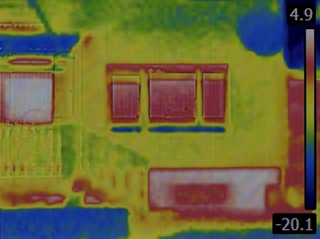 thermal image: Thermal Image of the House