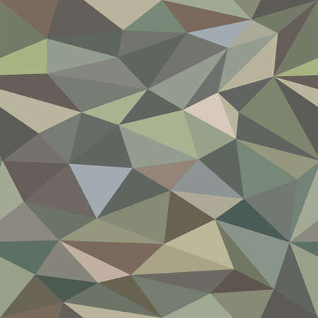 tessellation: Low Poly Seamless Camouflage Background Pattern