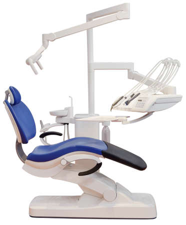 stomatological: Dentist Chair Isolated with Clipping Path