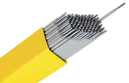 metal wire: Welding Rods Isolated with Clipping Path