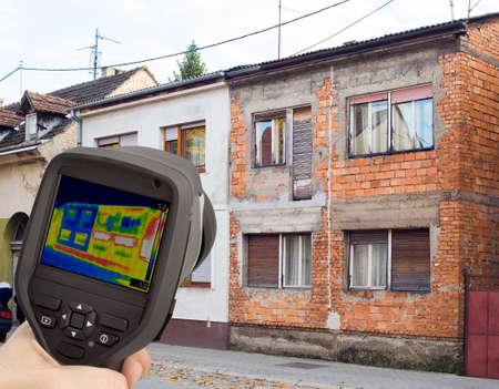 heat loss: Heat Loss Comparison with Infrared Camera