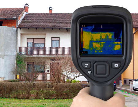 thermogram: House Facade Thermal Imaging Analysis