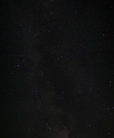 noche estrellada: Lapso de tiempo de cielo con estrellas y la v�a l�ctea