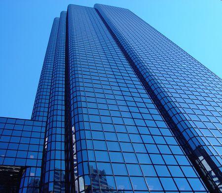 Downtown Boston reflective glass building. photo