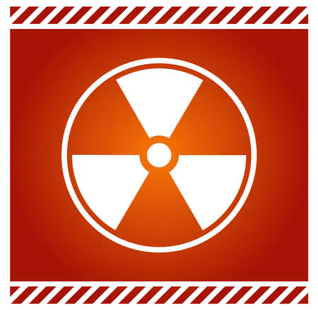 Vector sign for radioactivity Stock Vector - 4518538