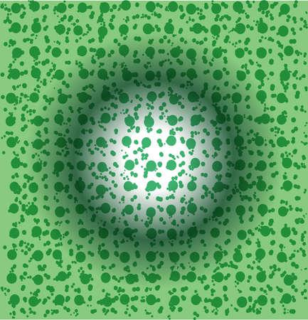 Uniq green cells background Stock Photo - 4576060