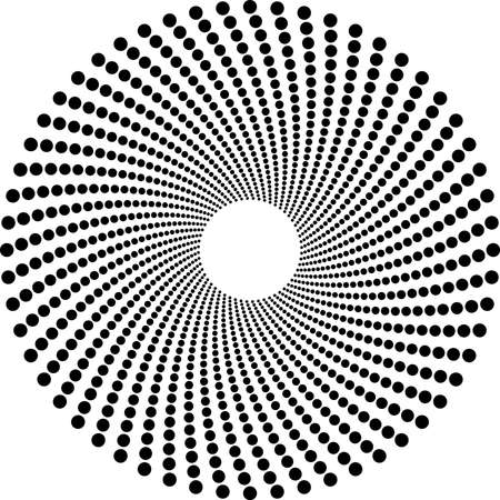 Halftone circles Stock Vector - 4656048