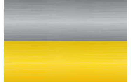 Steel and gold texture Vector