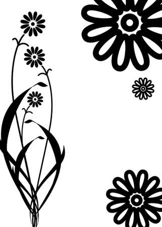 Sweet vector ornament nice flowers Vector