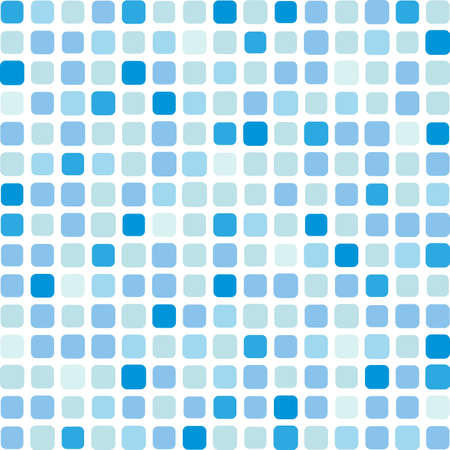 Marine square vector mosaic background on white phone Vector