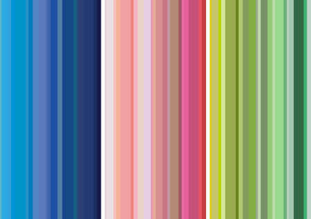 Vertical vector multicolored stripes background