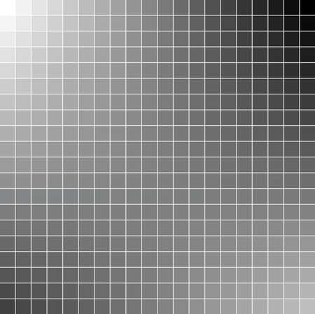 Black and white square vector mosaic background Vector