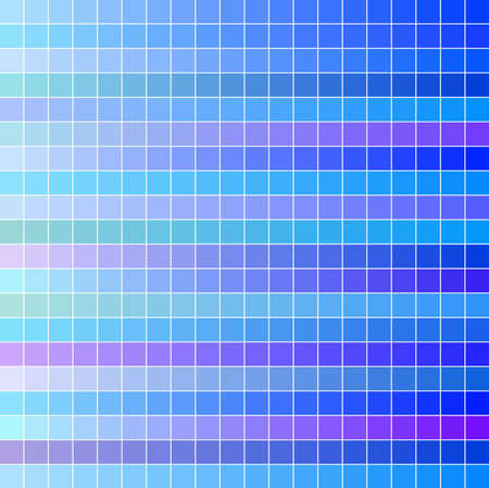 Cool square vector mosaic background Vector