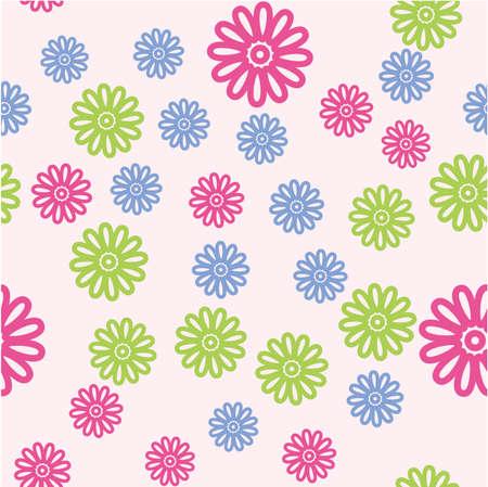 sarong: Seamless vector pattern