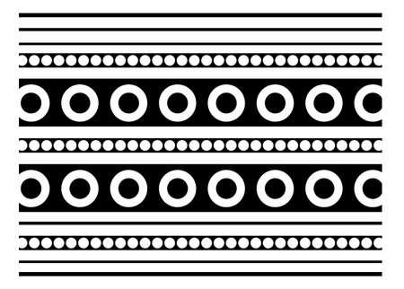 Retro vector ornate background Vector