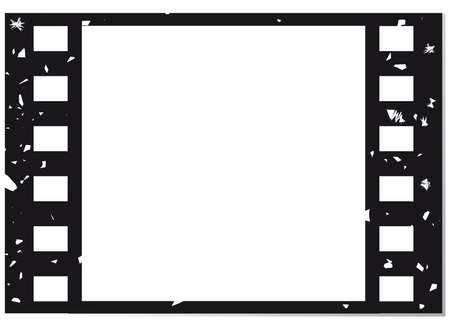 Film vector background Vector