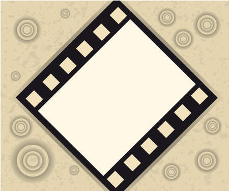 Grange film background Stock Vector - 5300631