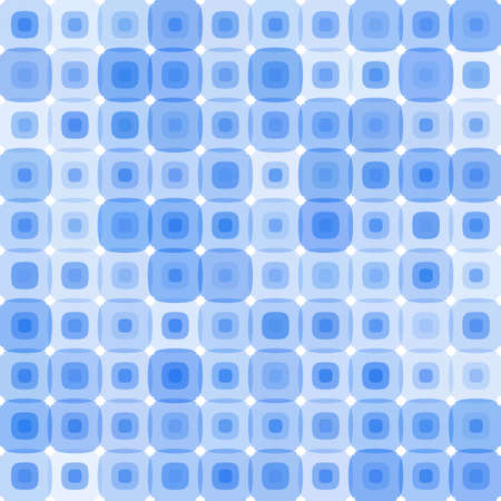 Retro blue pattern
