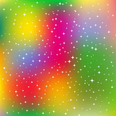 Bright sparkling background Vector