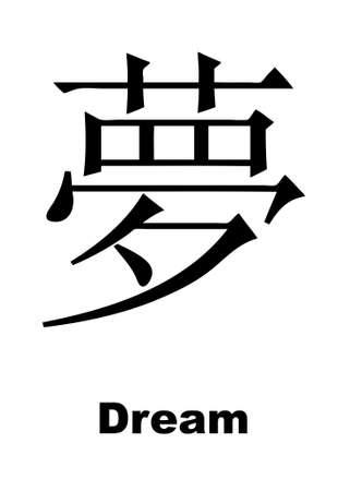 Dream hieroglyph Vector