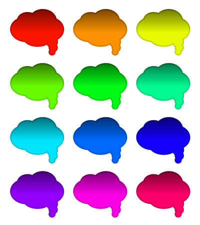 Comic speech bubbles Stock Vector - 5705591