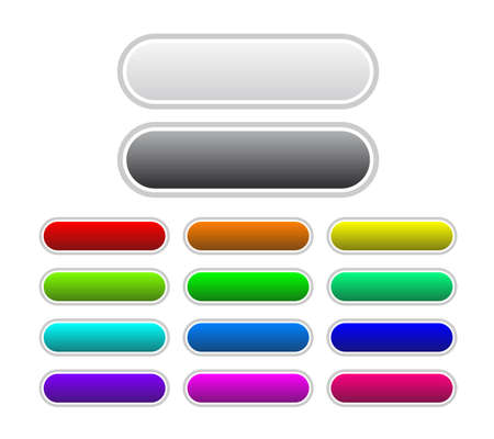 Set of buttons Stock Vector - 5727017