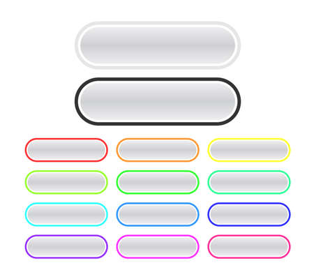Set of buttons Stock Vector - 5727014