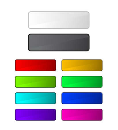 Set of buttons Stock Vector - 5727016