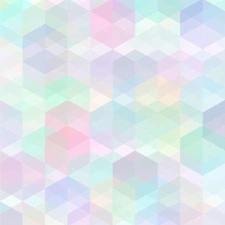 Retro multicolored pattern Vector