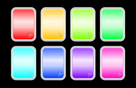 Set of shine badges Stock Vector - 5775072