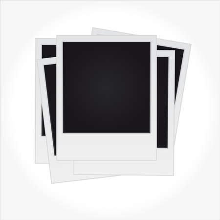 Set of polaroids Stock Vector - 5794380