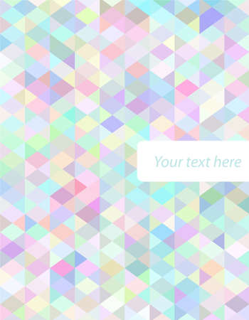 Abstract  colorful cover Vector