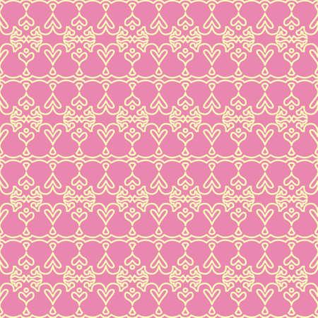 Design pink ornament background Stock Vector - 5890152