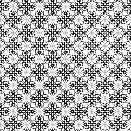 Seamless vector lace ornament wallpaper Vector